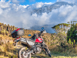 Suzuki DR650 Motorcycle Rental Colombia