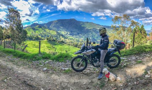 Colombian Motorbike tours