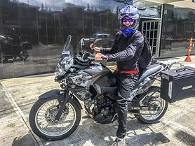 Kawasaki Versys Motorcycle Rental