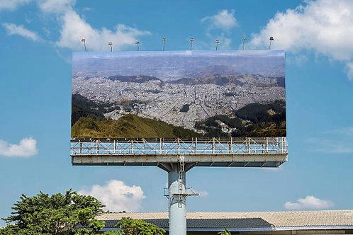 Gigapixel Quito - 25.4m x 4.68m