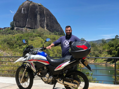 Columbia motorcycle tours