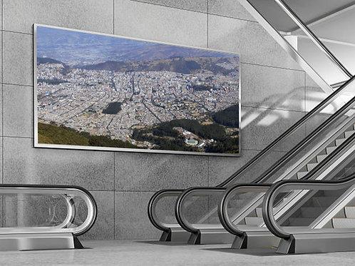 Gigapixel Quito - 5m x .92m