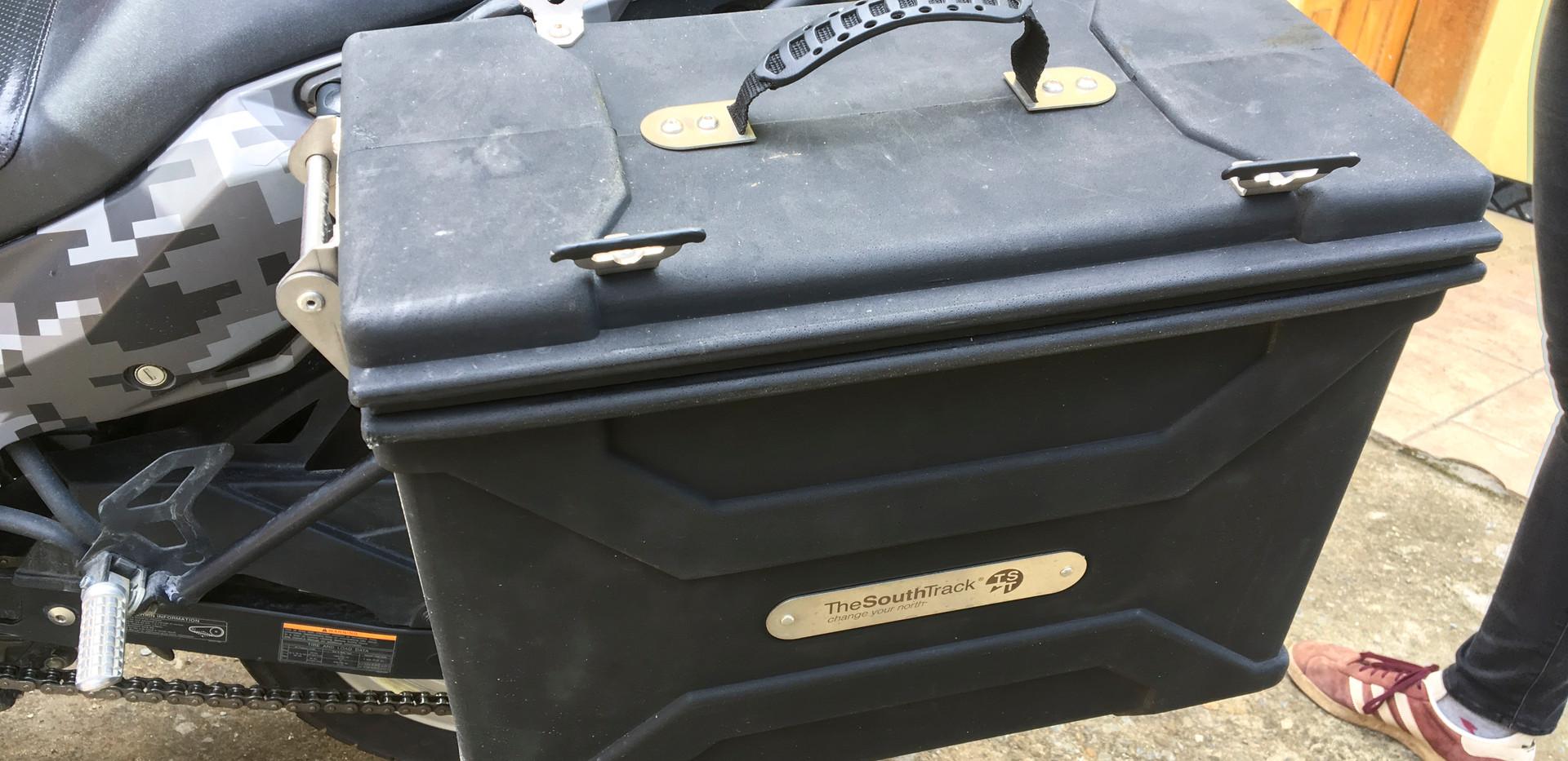 Kawasaki Side Cases
