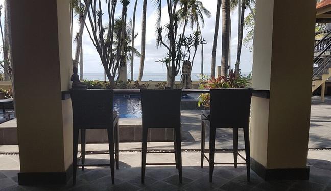 Enjoy seating areas at Villa Matanai dur