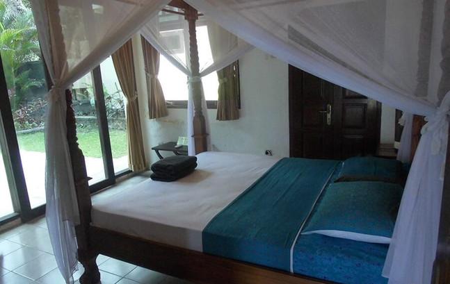 Family room at Villa Matanai, East Bali.