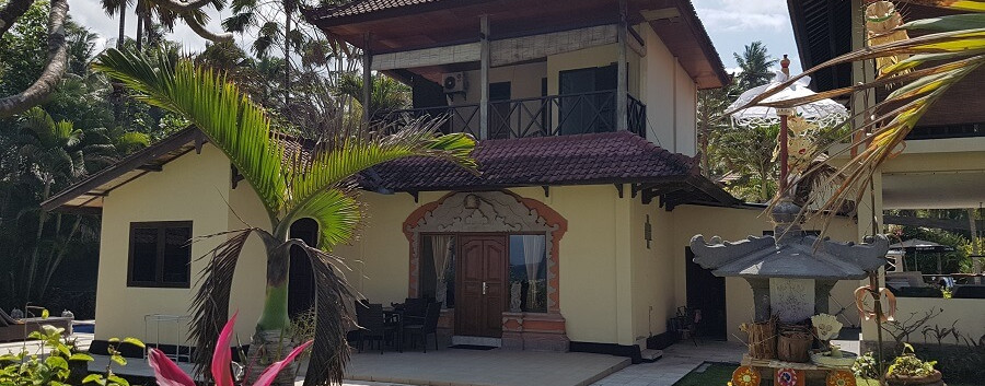 Family Villa for group holidays in Bali.