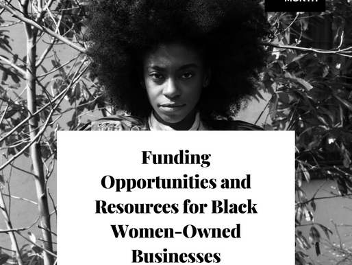 Funding Opportunities and Resources for Black Women-Owned Businesses