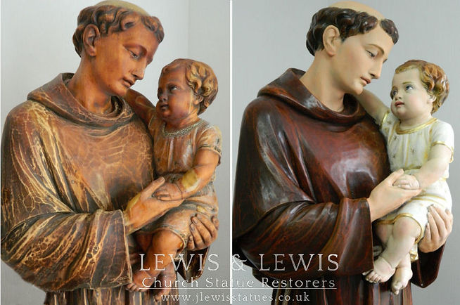 Saint-Anthony-Padua-restored-Lewis-&-Lew