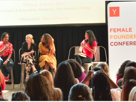 Iris attends YC Female Founders Conference