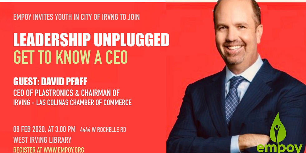 GET TO KNOW A CEO, Leadership Unplugged - Week 2