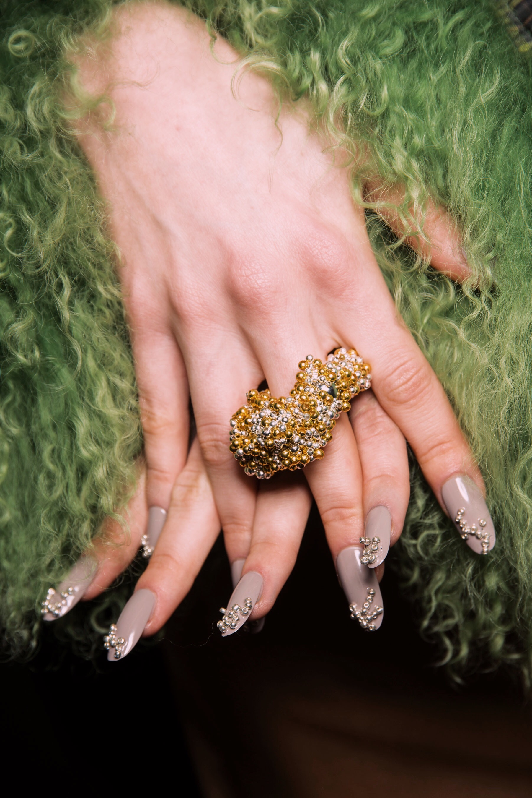 CHARLOTTE KNOWLES AW19 NAILS 03