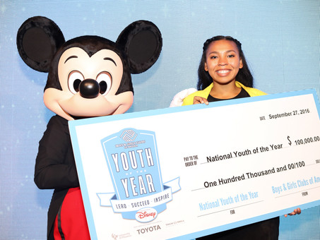 BOYS & GIRLS CLUBS OF AMERICA NAMES SAN JOSE CLUB TEEN, JOCELYN WOODS, NATIONAL YOUTH OF THE YEAR