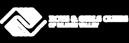 BGCSV White horizontal transparent logo.