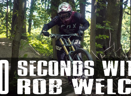 """30 seconds with"" Rob welch"