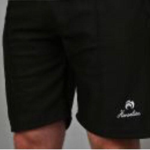 Henselite Black Sports Shorts