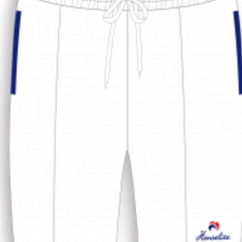 Henselite White Britannia Sports Shorts