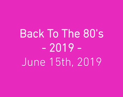 Back To The 80's - 2019