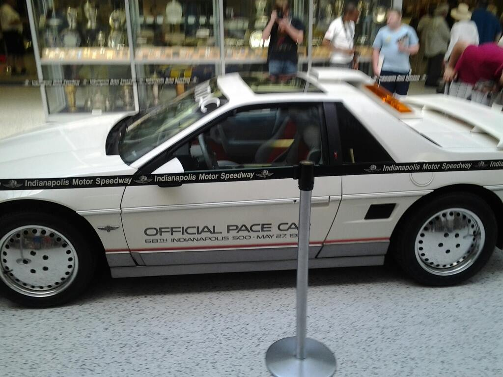 An ORIGINAL 1984 Indy Pace Fiero