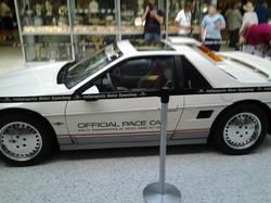 An ORIGINAL 1984 Indy Pace Fiero