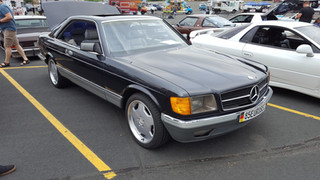 Award-Winning Mercedes 500