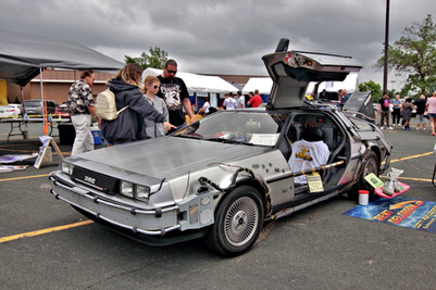 Rent Delorean Time Machine