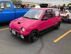 Hello Kitty Pink Suzuki Alto Works