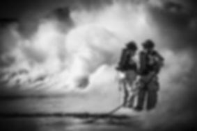 Fire-fighters-training-with-foam