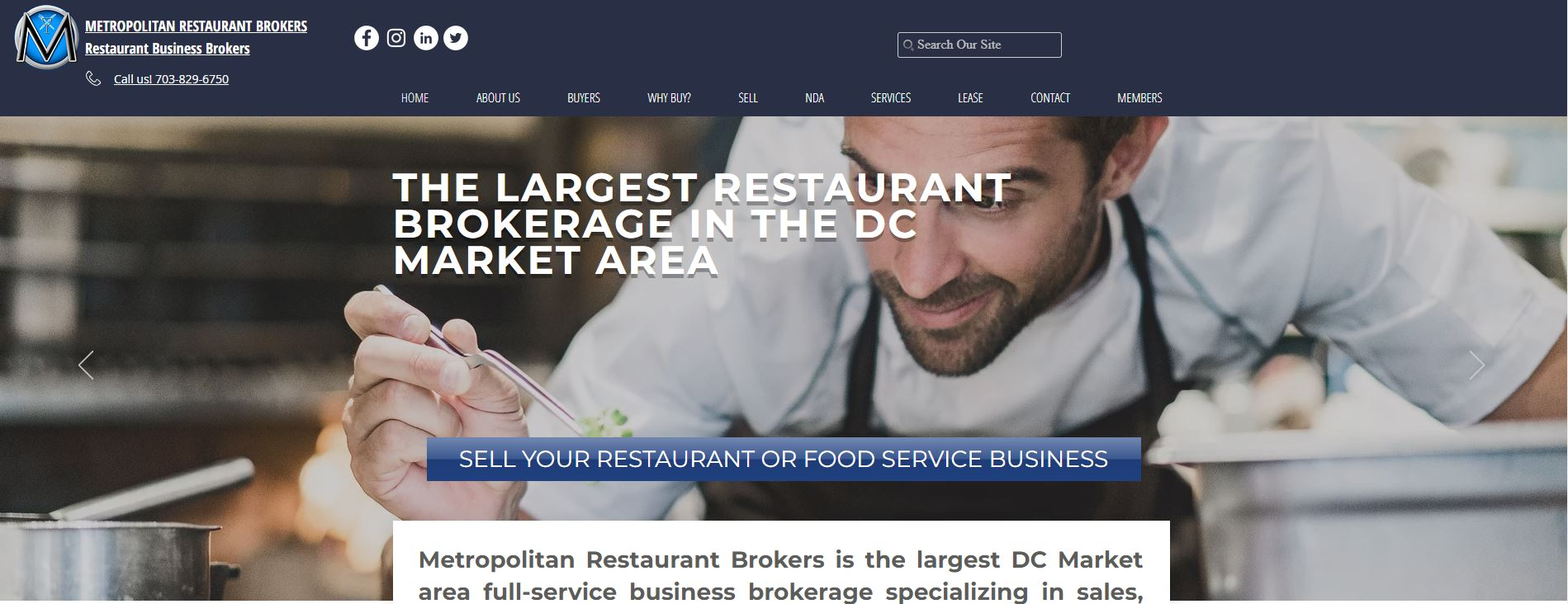 Metropolitan Restaurant Brokers
