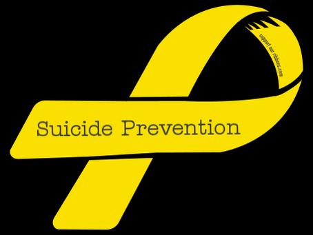 Parent Awareness - Suicide Prevention Month
