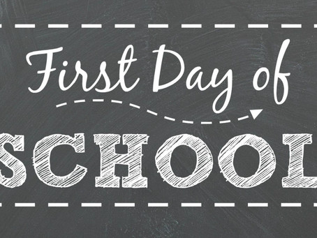 What To Do On The First Day Of School