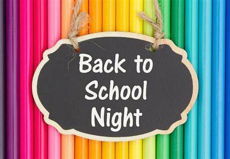 Virtual Back to School Night This Week