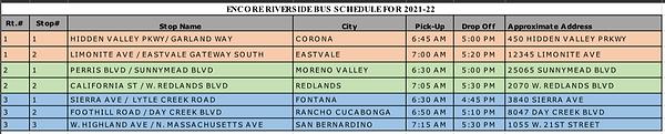 IE Bus Routes