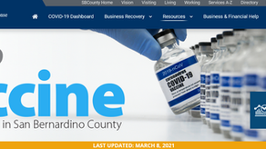 COVID19 Vaccine in San Bernardino County