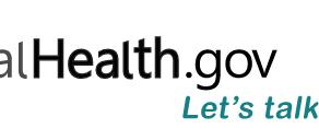 MentalHealth.gov Let's Talk About It.