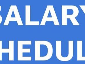 Staff Salary Schedules