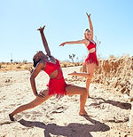 high school dance school dancers in the desert