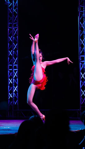 Dance high school student ciera torres shows off her high kick at House of Blues