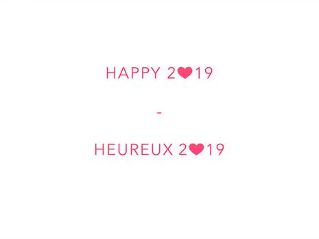 Happy & Heureux 2019
