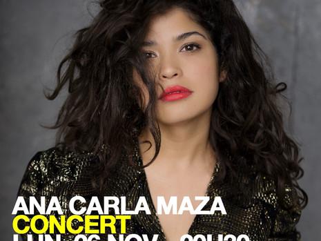 Nouvelle date de concert d'Ana Carla Maza au studio de l'ermitage lundi prochain !!🎻😃