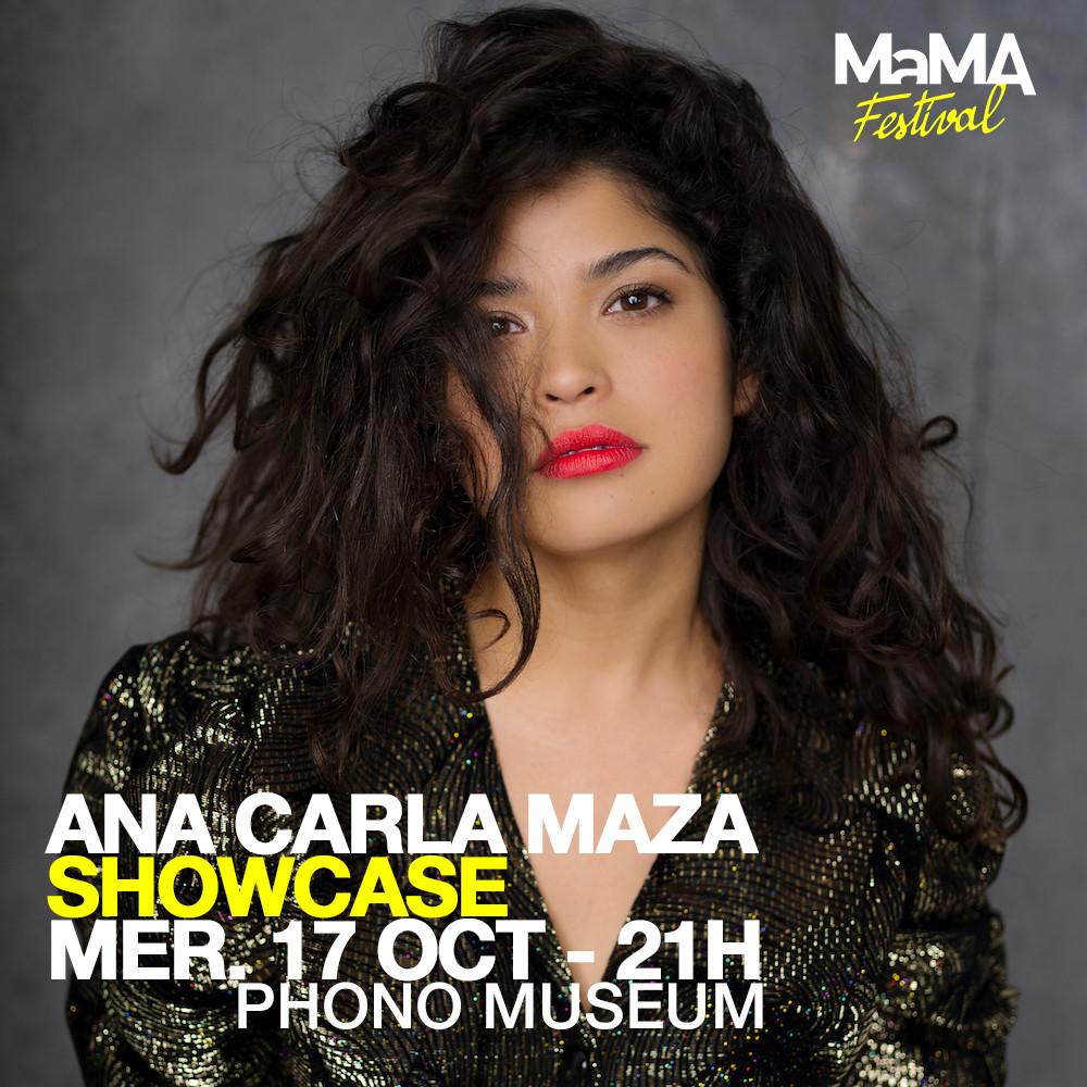 Ana Carla Maza au MaMA Festival