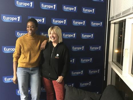 Irma, invitée d'Emilie Mazoyer sur Europe 1 pour son nouvel album.