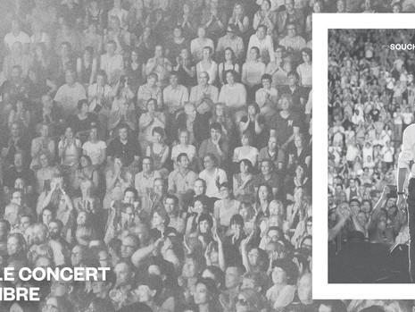 """""""Le concert"""" d'Alain Souchon et Laurent Voulzy sortira le 18 novembre 2016"""