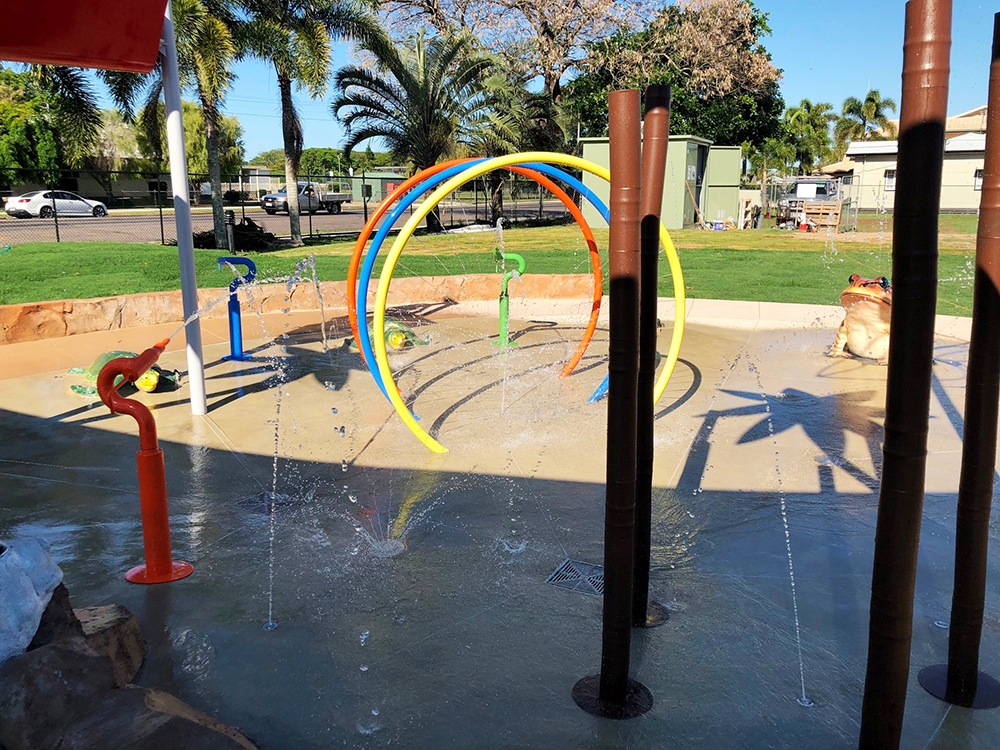 Water playground Hinchinbrook QLD
