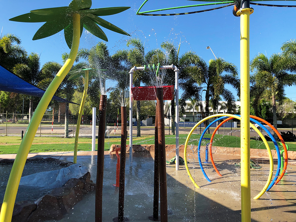 Splash pad Hinchinbrook