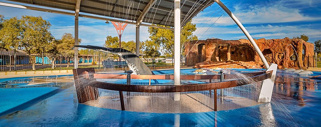 Exmouth Splash Pad, Water Features by Design