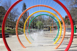 Shower Rings Bright Water Park