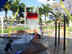Aquatic play park Hinchinbrook