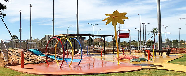 Aquatic playground Hinchinbrook