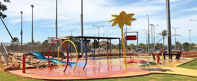 Aquatic playground Hinchinbrook