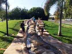 Water playground Hinchinbrook QLD